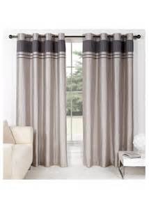 matalan curtains charlotte faux silk curtains matalan grey living