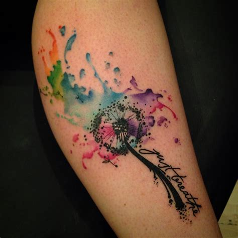 watercolor tattoos adelaide top 100 dandelion http 4develop ua top