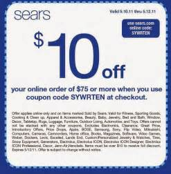 Coupon Code Printable Coupons Sears Coupons