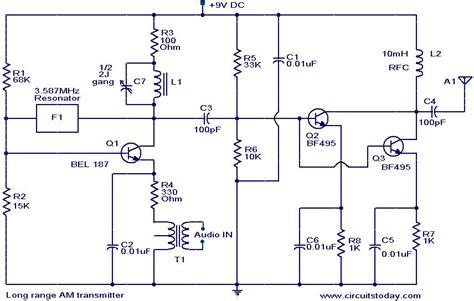 am broadcast transmitter block diagram transmitter circuit page 6 rf circuits next gr
