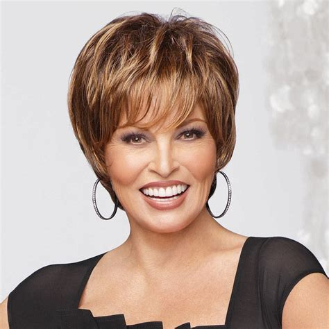 wigs for women over 50 by raquel welch short wigs for african american women over 50 short