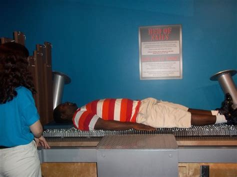 Bed Of Nails Reviews by Bed Of Nails Picture Of Wonderworks Myrtle