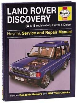 free download parts manuals 1994 land rover discovery windshield wipe control workshop manual haynes discovery for 1994 1995 discovery only 2223