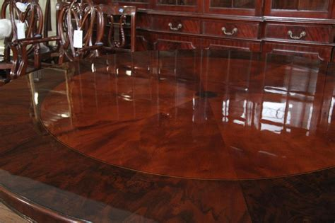 mahogany dining room table 72 round mahogany pedestal dining table with burled walnut