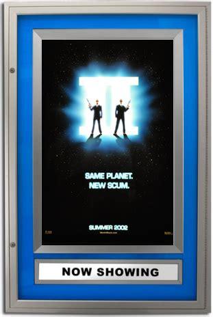 halolite illuminated poster case