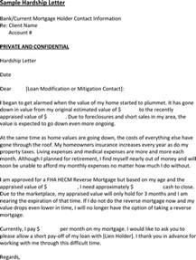 loan modification hardship letter template sle hardship letter for excel pdf and word