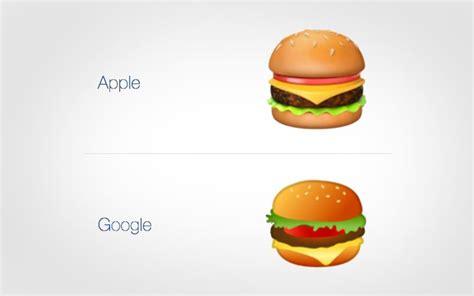 emoji burger pol 233 mique google va modifier son emoji hamburger