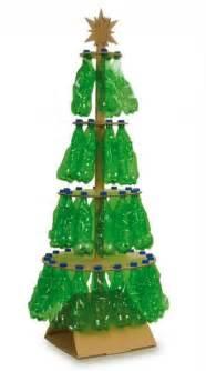 rbol de navidad con botellas de plstico navidad share