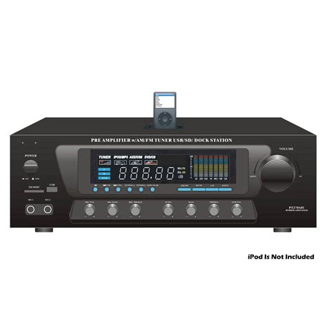 pyle home audio pt270aiu stereo receiver with tuner