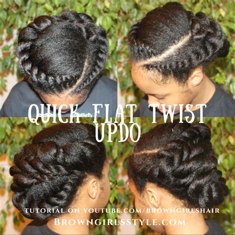 tutorial natural hair styles click link for easy to follow tutorial flat twist updo