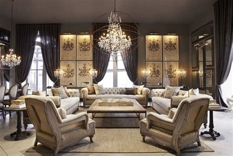 restoration hardware living rooms omg love this look for a living room beautiful living