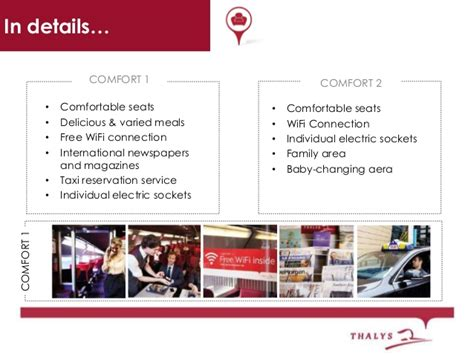 comfort 1 thalys product presentation thalys train for travel agents