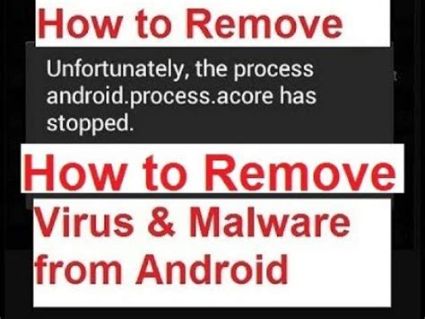 how to remove virus from android tablet how to remove virus malware from android 2017