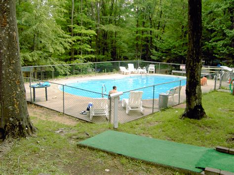 Cabins In Cadillac Mi by Cadillac Woods Cground Passport America Cing Rv Club