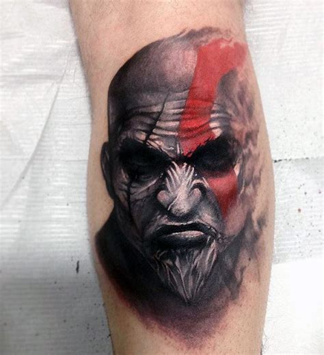 god of war tattoo 30 kratos designs for god of war ink ideas