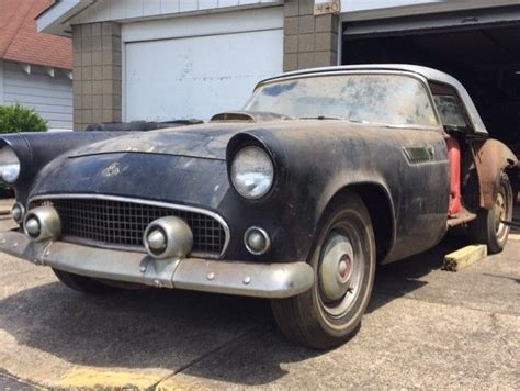 1955 ford t bird for sale 1955 ford thunderbird t bird not a barn find solid