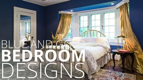 blue and gold bedroom ideas blue and gold bedroom designs homedesignlover youtube