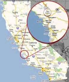cambria california map follow my bliss moonstone cambria california