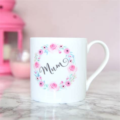 mug design for mothers mother s day mug mum mug floral bone china by the best