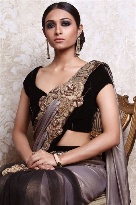 Blouse Bol Maroon Lwgl velvet blouse and embroidered pallu saree blouses to d saree grey and gold and