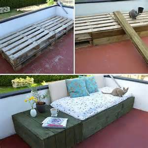 Pallet Daybed Design 39 Insanely Smart And Creative Diy Outdoor Pallet