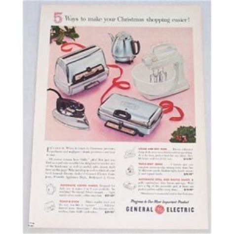 general electric small kitchen appliances 1956 general electric small kitchen appliances color print ad