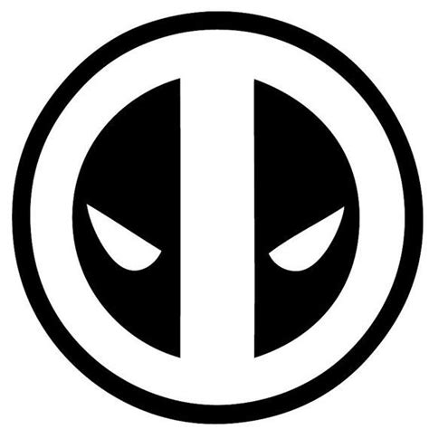 deadpool symbol coloring pages 8 best deadpool images on pinterest colouring pages