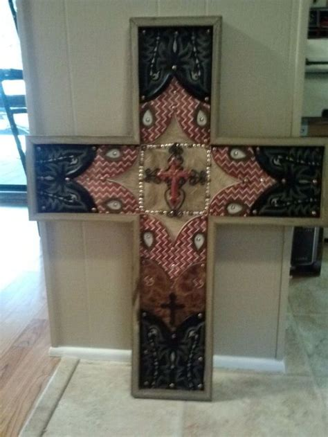 western craft projects crosses made from cowboy boots hometalk