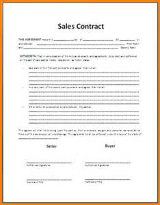 Sale Of Car Agreement Template by Doc 878995 Sales Agreement Sales Agreement Form Free