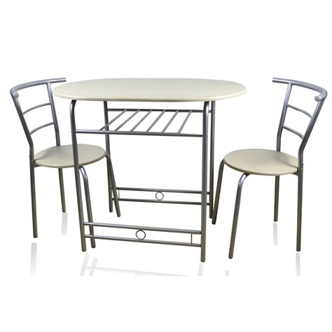 home accessories honeymoon 90cm dining table with 2 chairs