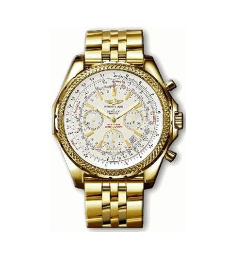 breitling gold watches