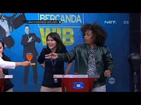 Mba Indonesia by Waktu Indonesia Bercanda Mba Karin Ngakak Liat Bedu Dan