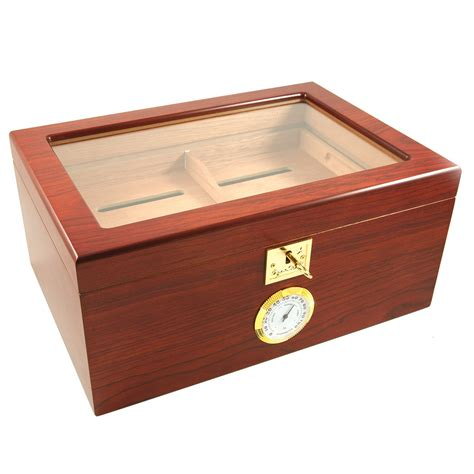 cigar humidor showcase ii cigar humidor glass top less than