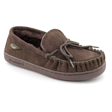 moccasin sandals bearpaw bearpaw moc suede brown moccasin slippers