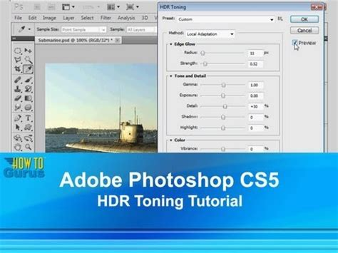 lightsaber tutorial photoshop cs5 adobe photoshop cs5 hdr tutorial how to use photoshop