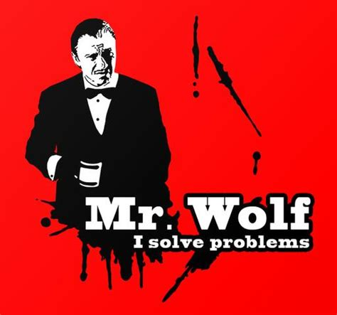 Mr Problem i m winston wolf i solve problems human resources spoiler