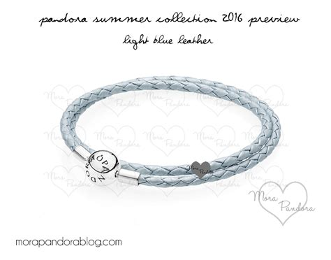 light blue bracelet review light blue leather bracelet from pandora summer