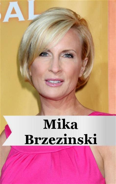 is mika brzezinski really blonde mika brzezinski haircut new style for 2016 2017