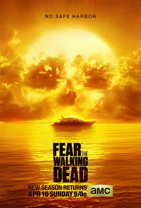 Out For The Season 2 by Fear The Walking Dead Season 2 Poster And New Details