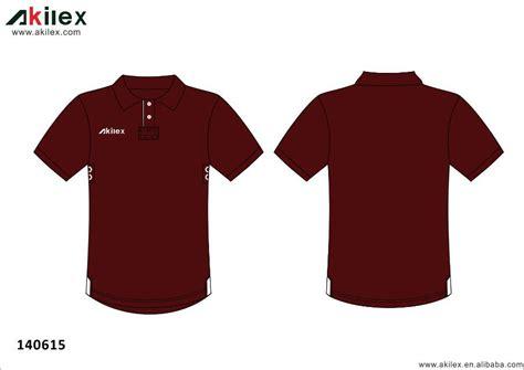 Kaos Polo Maroon 1 maroon color soccer polo shirt with hem buy maroon