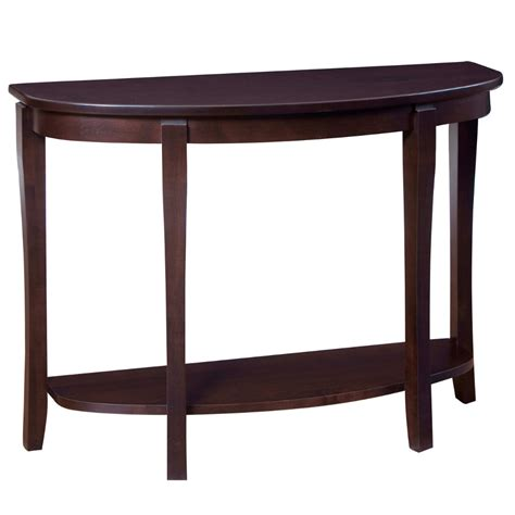 Half Moon Sofa Table by Soho Half Moon Sofa Table Home Envy Furnishings