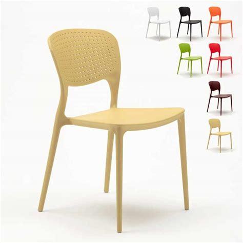 sedia cucina sedia da cucina e bar impilabile e lavabile per interni ed