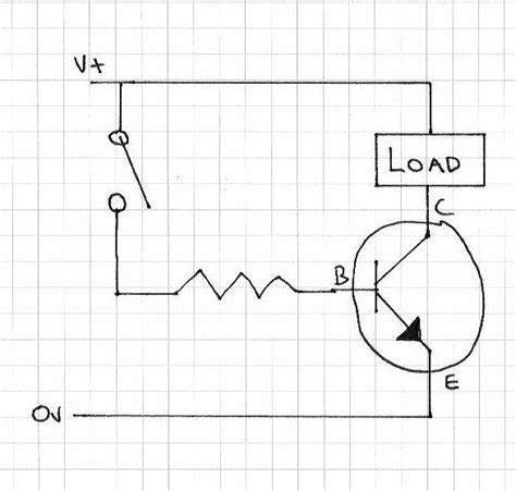 transistor how to use load transistor how to use load 28 images transistor switch circuit diagram transistor free