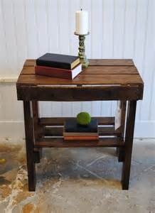 Cost Custom Kitchen Cabinets End Table Made From Pallets Wood Pallet Furniture Diy