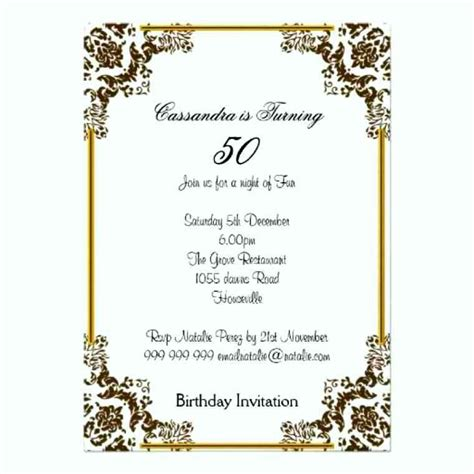 60 birthday invitation templates 60 birthday invitations templates template update234