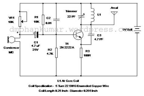 fm transmitter with one transistor one two transistor transmitters page 1