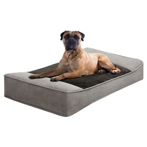 dog bed target shadow pillow top stretch lounger pet bed target