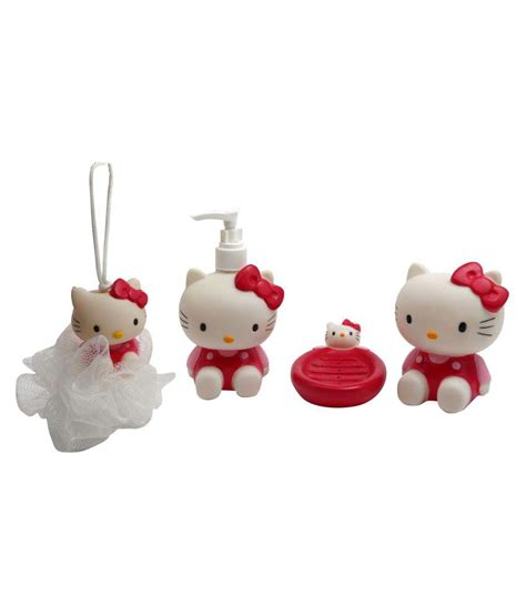 character bathroom sets hello kitty character bathroom set for kids bath toy buy
