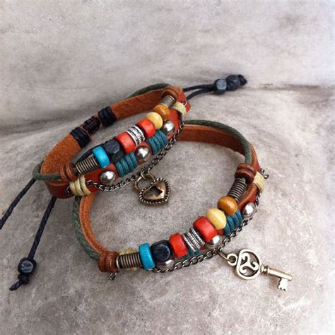Unique Handmade Bracelets - handmade leather weave bracelets fashion