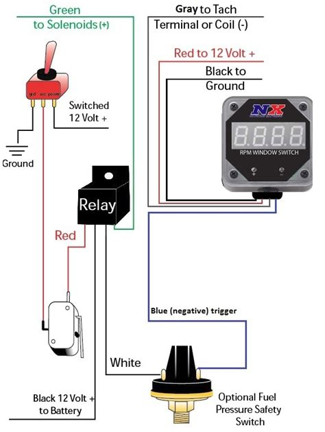 nitrous plate wiring diagram line kit diagram wiring